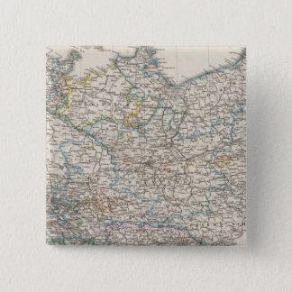 北東ドイツ 5.1CM 正方形バッジ