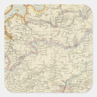 北東ロシア スクエアシール