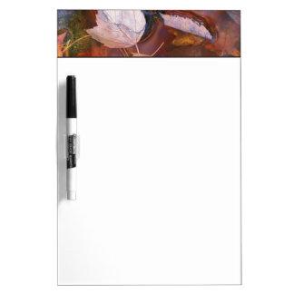 北東米国水溜の紅葉との ホワイトボード