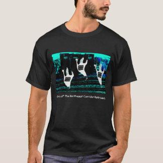 北東通路の鉄道の幽霊 Tシャツ
