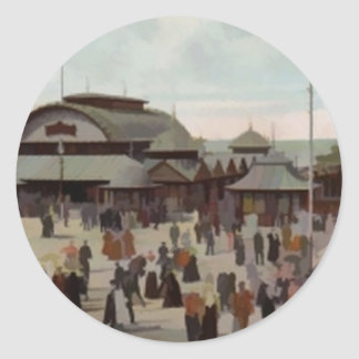 北桟橋ブラックプール1906年 ラウンドシール