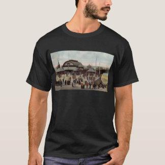 北桟橋ブラックプール1906年 Tシャツ