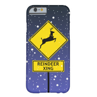 北極のトナカイの交差の印 BARELY THERE iPhone 6 ケース