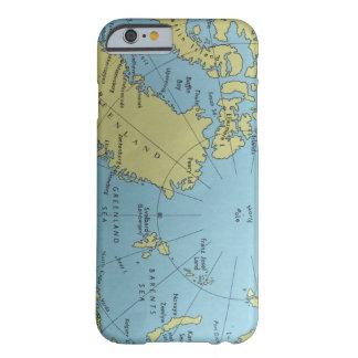 北極のヴィンテージの地図 BARELY THERE iPhone 6 ケース