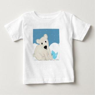 北極の友人 ベビーTシャツ