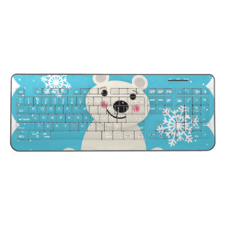 北極の友人 ワイヤレスキーボード