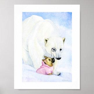 北極の友達 ポスター