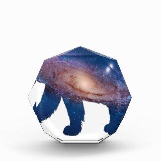 北極の銀河 表彰盾