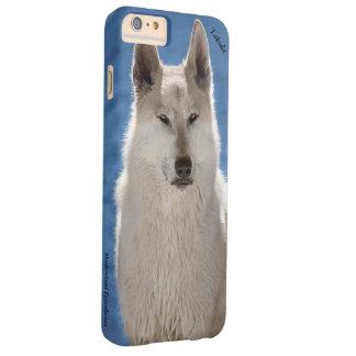 北極オオカミのiPhone 6のプラスの場合 Barely There iPhone 6 Plus ケース