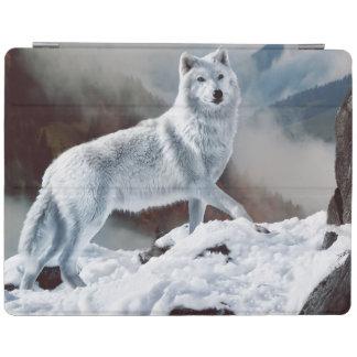 北極オオカミ iPadスマートカバー