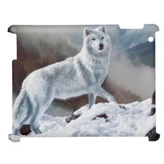 北極オオカミ iPad CASE