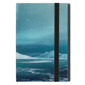 北極冬夜iPad Miniケース、Kickstand無し iPad Mini ケース