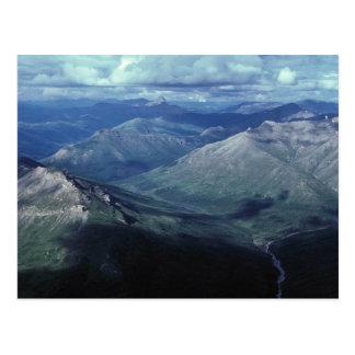 北極国立公園のゲート ポストカード