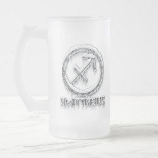北極射手座 フロストグラスビールジョッキ