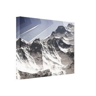 北極山頂 キャンバスプリント