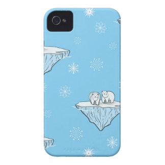 北極氷山に関係します Case-Mate iPhone 4 ケース