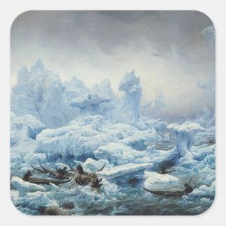 北極海のセイウチのために採取します、1841年 スクエアシール