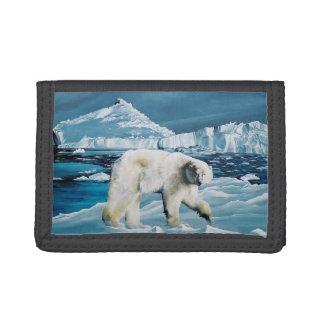 北極王 ナイロン三つ折りウォレット