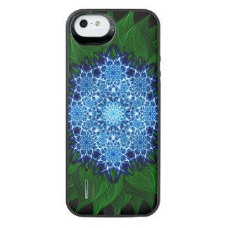北極花の曼荼羅 iPhone SE/5/5sバッテリーケース