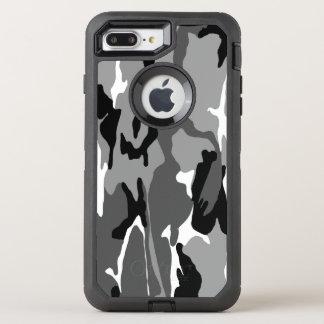 北極迷彩柄 オッターボックスディフェンダーiPhone 8 PLUS/7 PLUSケース
