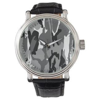 北極迷彩柄 腕時計