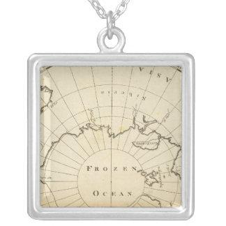 北極 シルバープレートネックレス