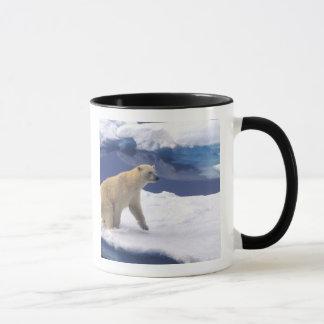 北極、スバールバルのフレンドリーがあっているセイウチ マグカップ