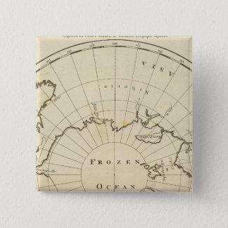 北極 5.1CM 正方形バッジ
