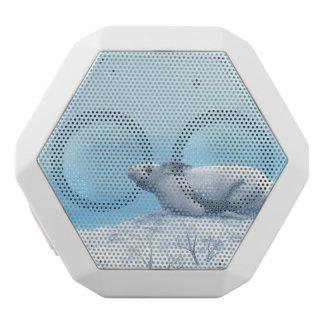 北極arcticusノウサギ、lepusまたは北極のウサギ ホワイトBluetoothスピーカー