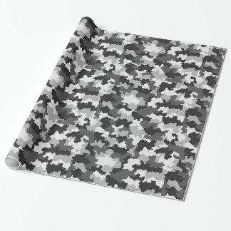 北極B&Wのカムフラージュの包装紙 ラッピングペーパー