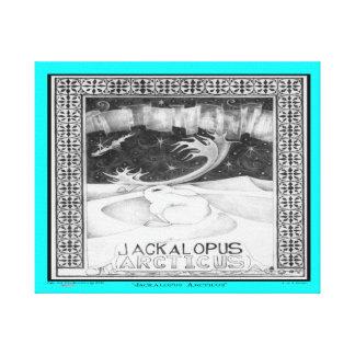 北極Jackalope キャンバスプリント