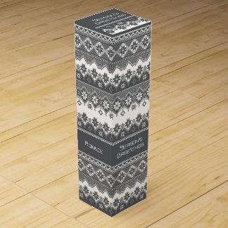 北欧の灰色 ワインギフトボックス