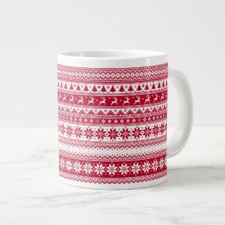 北欧人-スカンジナビアのクリスマスのマグ ジャンボコーヒーマグカップ
