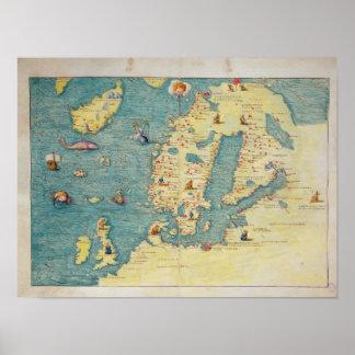 北欧 ポスター