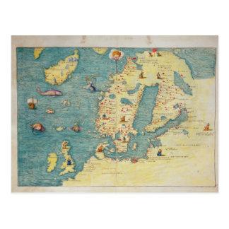 北欧 ポストカード
