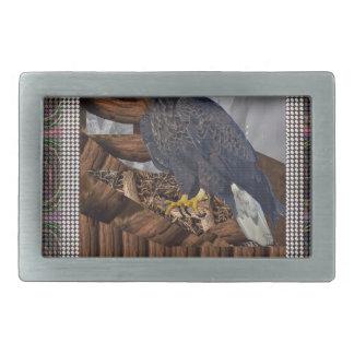北米人の生息地肉食鳥のワシ王 長方形ベルトバックル