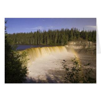 北西エヴァリンFalls Territorial Park女性 カード