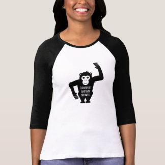 北西チンパンジーの聖域による野球のティー Tシャツ