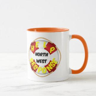 北西マグの助けの応答 マグカップ