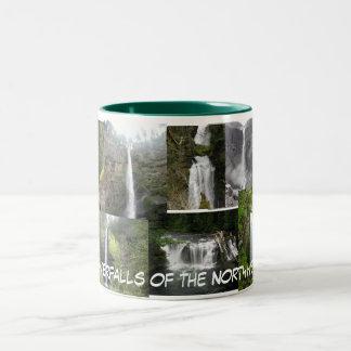 北西マグの滝 ツートーンマグカップ