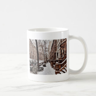 北西側のクリスマスの後の週 コーヒーマグカップ