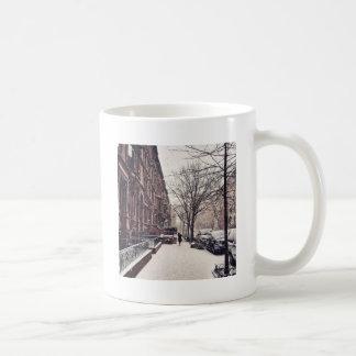 北西側の冬 コーヒーマグカップ