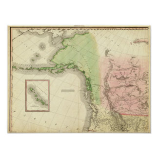 北西北アメリカ ポスター
