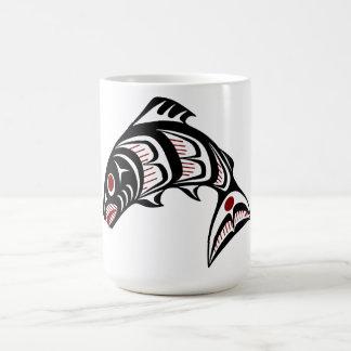 北西太平洋沿岸のHaidaの芸術 コーヒーマグカップ