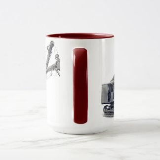 北西蒸気シャベルモデル2建設用クレーン マグカップ