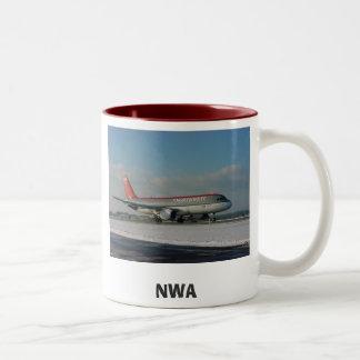 北西1、NWA ツートーンマグカップ