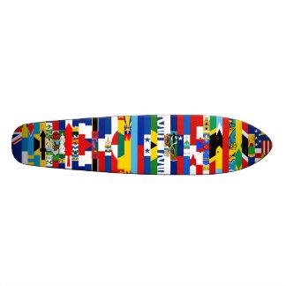 北 アメリカ 旗 スケートボード