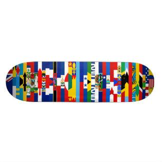 北|アメリカ|旗|スケートボード スケートボード