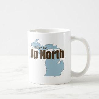 北-ミシガン州の上 コーヒーマグカップ