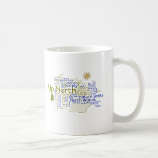 北-ミシガン州の部品の上 コーヒーマグカップ